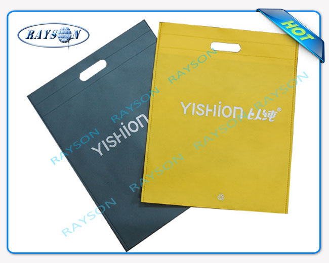 Non-woven bag, custom-made, flat pocket